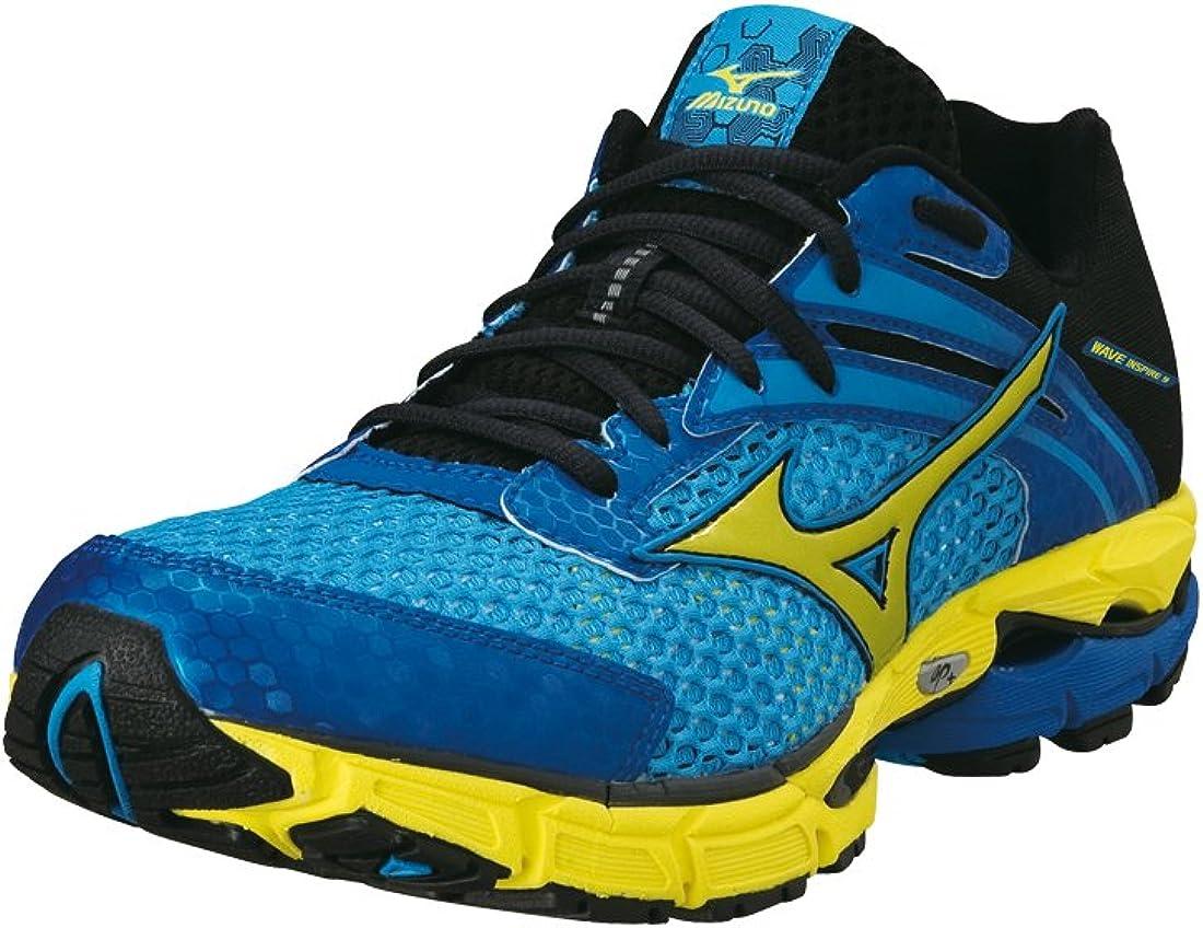 mizuno mens running shoes size 9 yellow edition