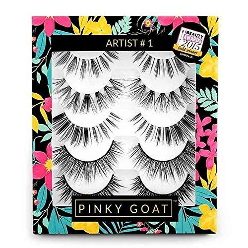 [Pinky Goat ] 小指ヤギシルクつけまつげパックアーティスト1 - Pinky Goat Silk False Eyelashes Pack Artist 1 [並行輸入品] B07S95JLCT