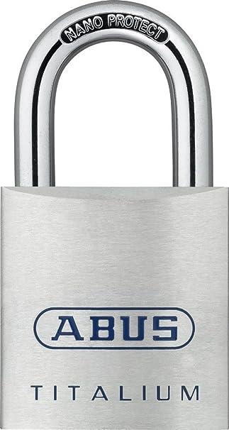 Abus 72907 - Pack cadena y candado 80ti/60+8ks40: Amazon.es: Bricolaje y herramientas