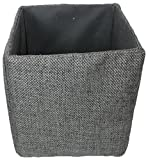 Wald Imports 70042/5P Gray Canvas 5'' Collapsible Tote