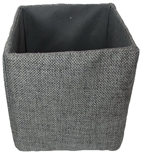 Wald Imports 70042/5P Gray Canvas 5'' Collapsible Tote by Wald Imports