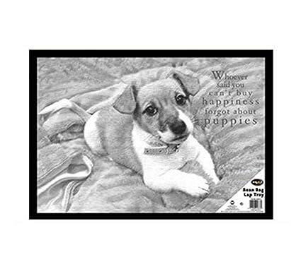 Amazon.com: Acolchada Diseño de perro Bandeja de Bean Bag ...