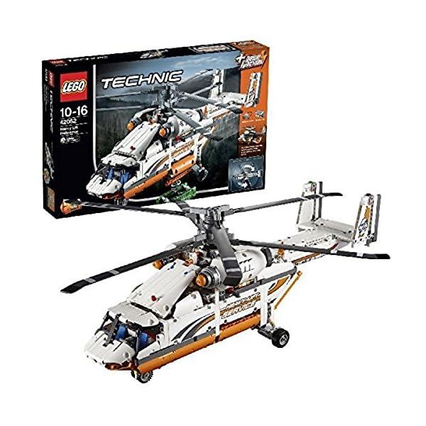 LEGO Technic Elicottero da Carico Costruzioni Gioco Bambina Giocattolo, Multicolore, 42052 1 spesavip