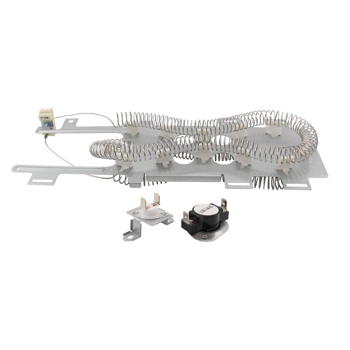 ApplianPar 8544771 Clothes Dryer Heating Element with 279973 Thermal Cut-Off Fuse Thermostat Kit for Whirlpool Kenmore Maytag Dryers