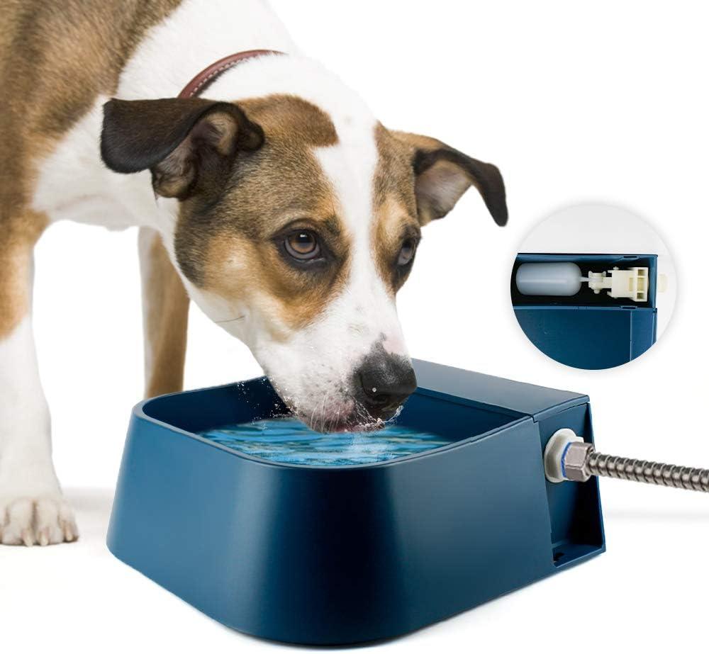 Namsan Flotador Bebedero para Mascotas Automático Perros Bebedero Flotador con Válvula de flotador para Perros/Gato / Gallinas/Patos/Cabales/ovejas