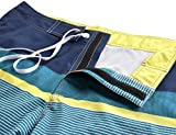 Unitop Men's Summer Holidays Strips Bathing Shorts