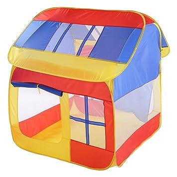 LINAG Enfants Tente Maison Jeu Jardin Pliant Portable Pop Up ...