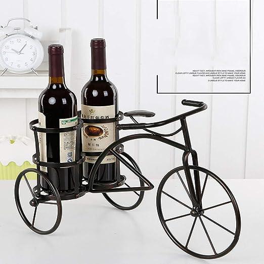 YUMUYMEY Muebles para el hogar Bar de vinos Hierro Estante de Vino ...