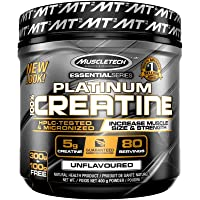 MuscleTech Platinum Creatine Powder, Unflavored, 400 grams