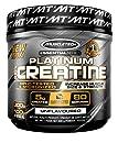 MuscleTech Platinum Creatine Powder, Unflavored, 400 grams