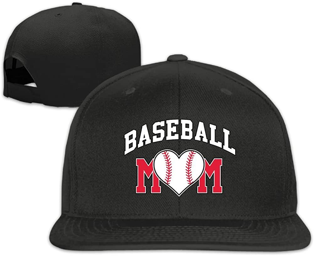 MCWO GRAY Mens//Womens Baseball Mom Baseball Hat Hip Hop Hat Cotton Black