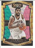 Kyrie Irving Cleveland Cavaliers 2015-16 Panini Select Gold Prizm Red White and Green Basketball Card #107