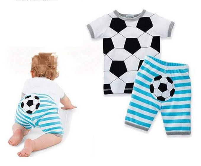 the best attitude bba88 9fa48 Rush Dance Baby Boutique Soccer (European Football) Boys Girls 2 pcs Shirt  and Pants