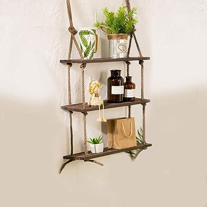Pleasing Amazon Com Eoeth Big Salewood Hanging Shelf Wall Swing Download Free Architecture Designs Philgrimeyleaguecom