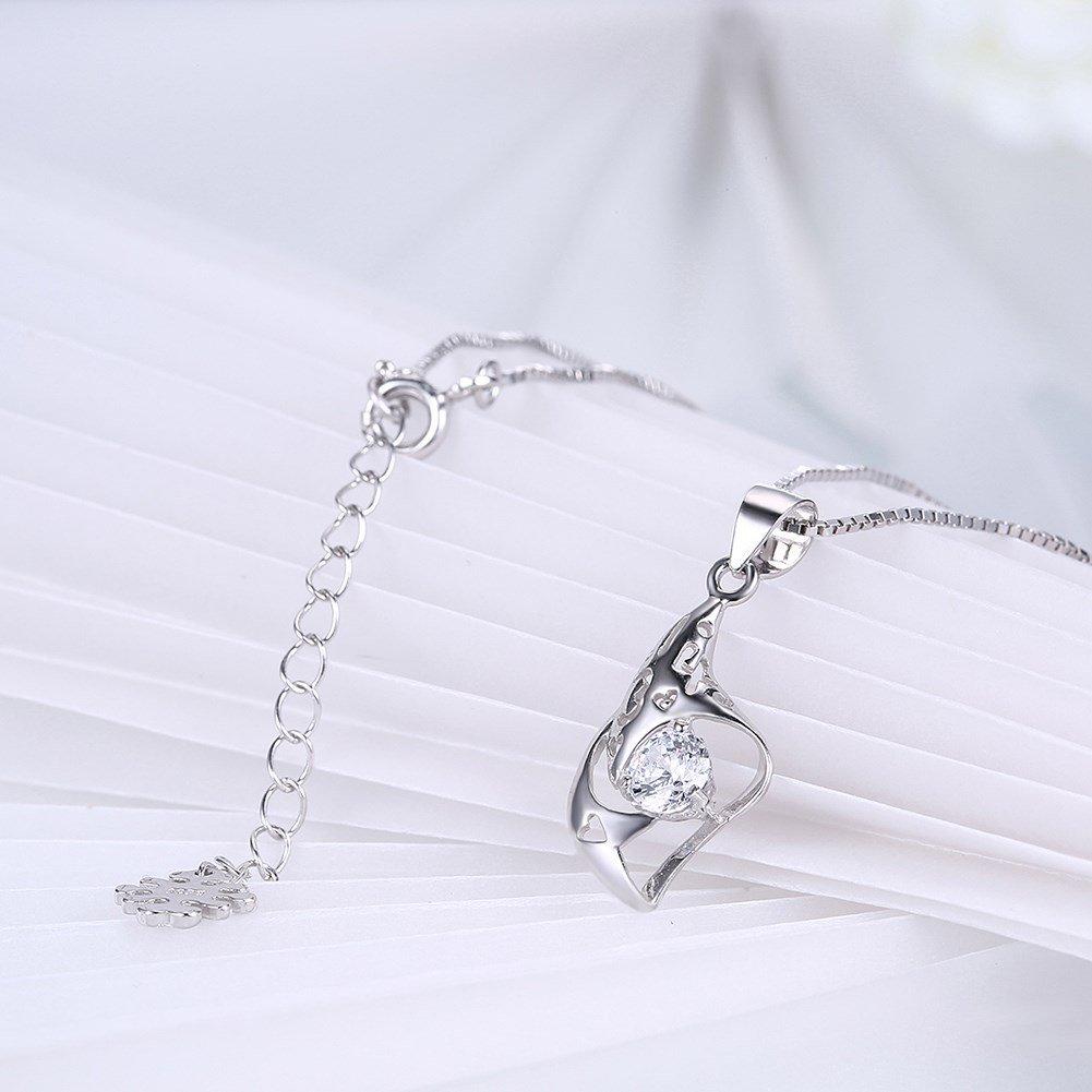 myazs8580 SH-N0038 Fashion Silver Necklace