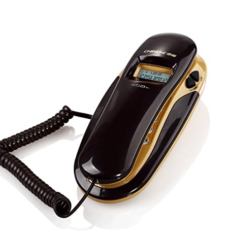 Wall Mounted Telephone /Corded Phones/Caller ID /free Battery /Wall And