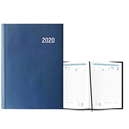 Agenda Anual Modelo Paris 2020 Azul: Amazon.es: Electrónica