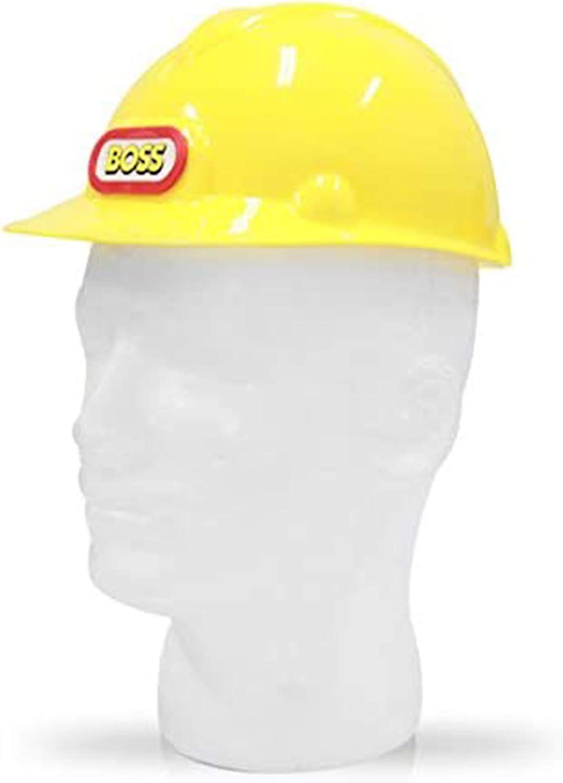 Children Hard Hat Simulation Safety Helmet Pretend Role Play Hat Toy Gift FD8