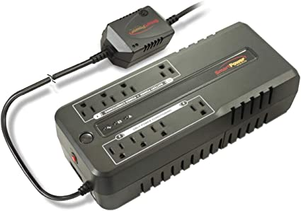 850VA Smart Power Office Plus Standby UPS with TBF and Smart Ground 450W Shutdown Software