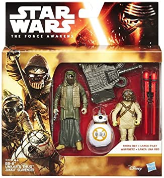 Star Wars - Pack de figuras Hasbro modelos surtidos: Amazon.es ...