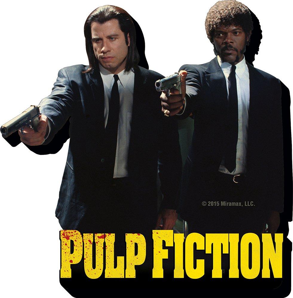 Aquarius Pulp Fiction Duo Guns Funky Chunky Magnet: Amazon.es ...
