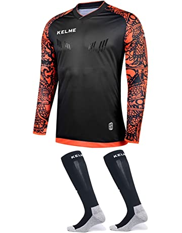Goalkeeper Jersey Pro Bundle - Includes Premium Pro Goalkeeper Shirt and  Socks 274fbe414
