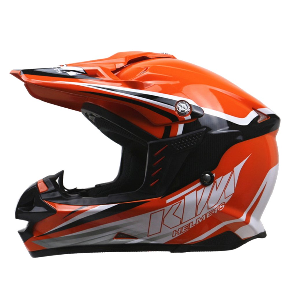 MERRYHE Erwachsener Off Road Motocross Enduro Helm Vollgesichts Allround Motorrad Sicherheit Schutz Motorrad Helme CE Zertifiziert