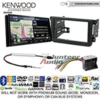 Kenwood Excelon DNX994S Double Din Radio Install Kit with GPS Navigation Apple CarPlay Android Auto Fits 2012-2013 Volkswagen Beetle, 2010-2013 Golf, 2006-2013 Jetta