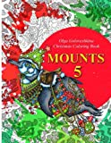 Mounts 5: Christmas Coloring Book (Volume 5)
