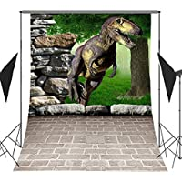 FUERMOR Backgrounds 5X7FT Ancient Dinosaur Photography Backdrop For Children Photo Shooting Props (New material) RQ004