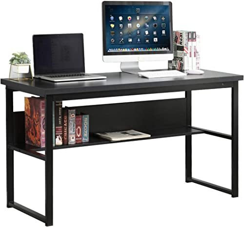 Soges 54.7 inches Computer Desk Office Table Study Writing Desk