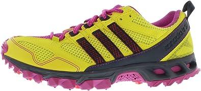 Amazon.com   adidas New Kanadia 5 TR Lime/Pink Ladies 10   Shoes