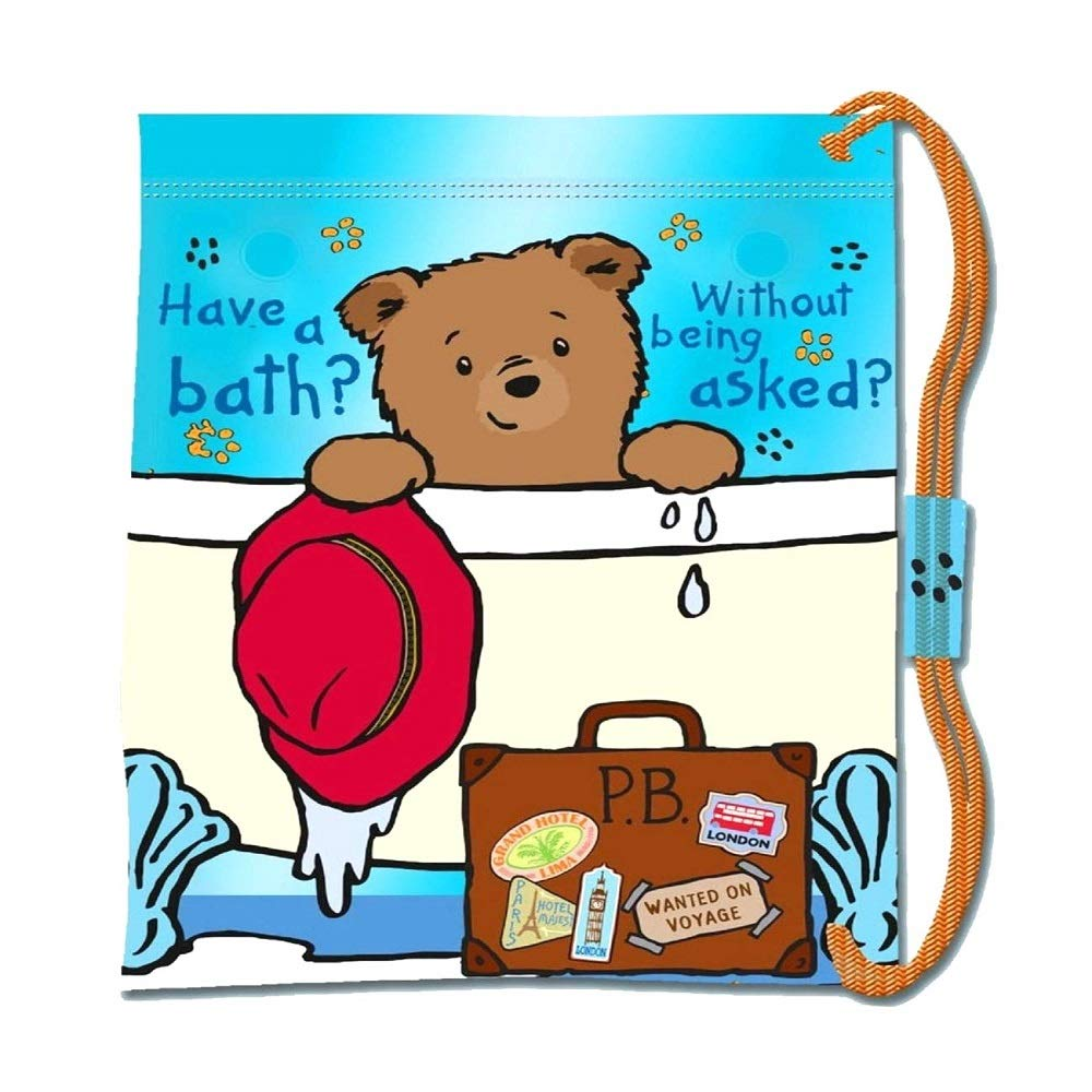 Paddington Bear Drawstring Bag Bags & Accessories Synthetic Material Kids Bags Blue/Green/Assorted