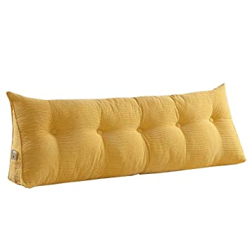 Vclife Baumwolle Sofa Bett Gross Gefullt Dreieckig Keil Kissen Bett