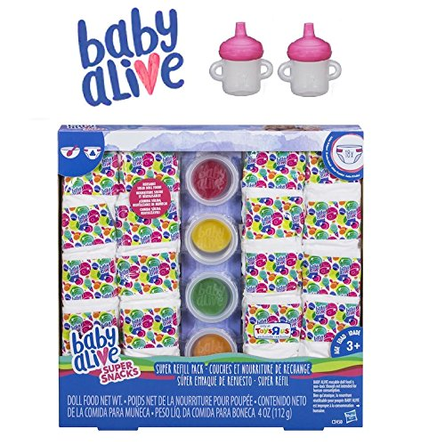 baby alive doll food refill pack - 9