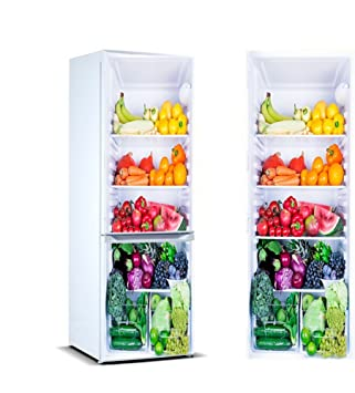 Stickers Autocollants Frigo Motif Interieur Frigo Legumes Et Fruits