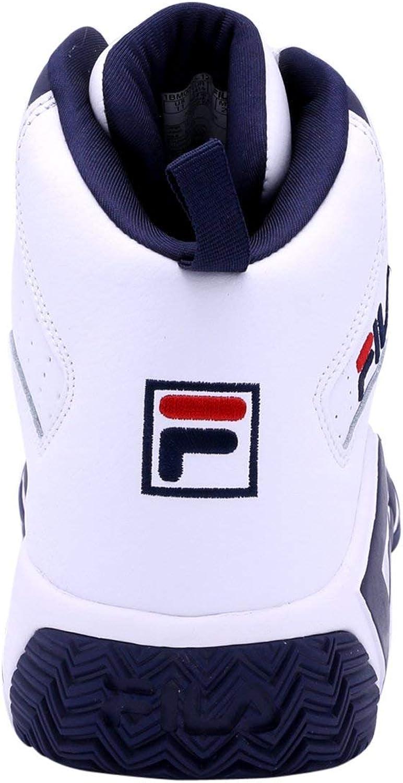 Fila 1BM00055125 Homme Blanc Bleu Marine Rouge
