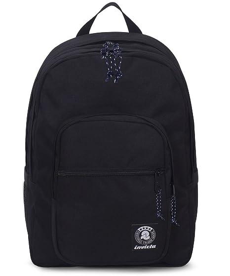 selezione premium 5e601 0e274 ZAINO INVICTA - JELEK - Nero - tasca porta pc padded - 38 LT -