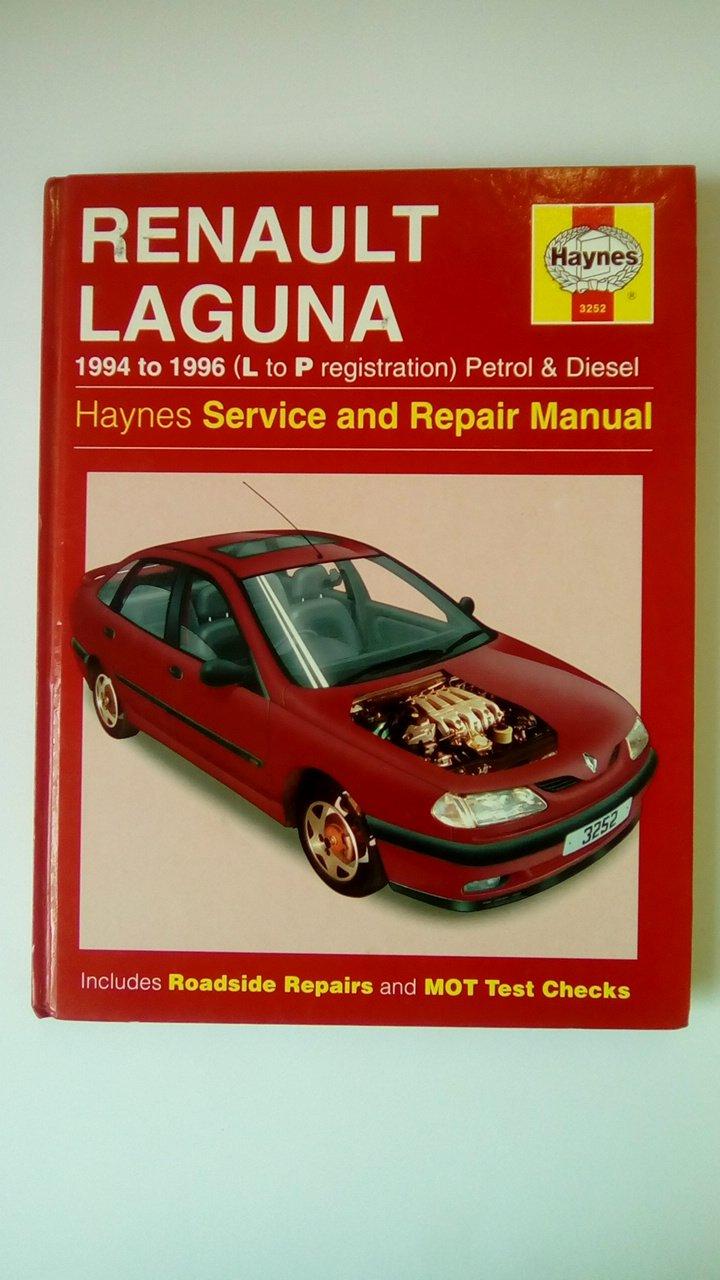 Buy Renault Laguna Service and Repair Manual (Haynes Service and Repair  Manuals) Book Online at Low Prices in India | Renault Laguna Service and  Repair ...