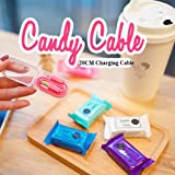 Candy 2A Portable Mini 20cm Micro USB PowerBank Sync Charging Cable Smartphone by Snowpearl