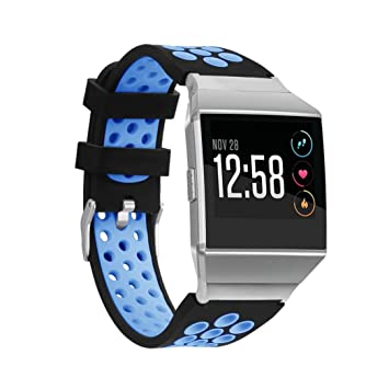 Reloj Correa para Fitbit Ionic – Reloj inteligente, de silicona de repuesto correa de reloj