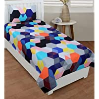 Pridhi Cotton Single Bed Sheet with One Pillow Cover