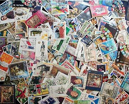 malta-stamp-collection-200-different-stamps