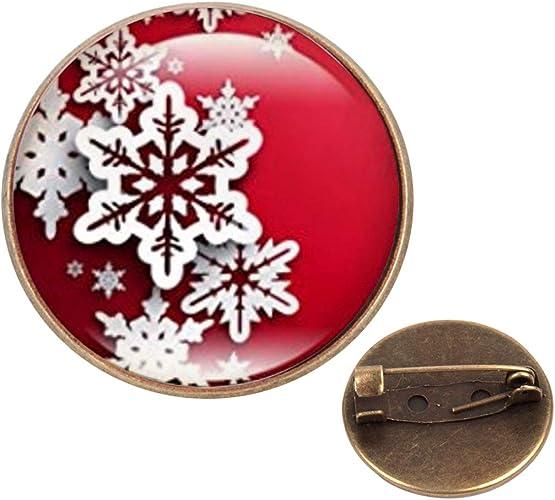 Custom Lapel Pin Brooches Blood Snowflake Banquet Badge Pins Trendy Accessory Jacket T-Shirt Bag Hat Shoe