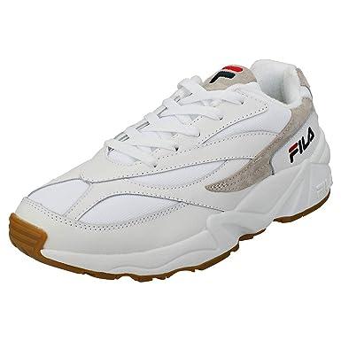 Fila Vintage Hombre 94 Zapatillas de Deporte Bajas, Blanco, 42 EU: Amazon.es: Ropa y accesorios