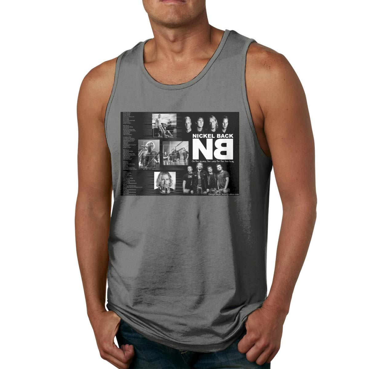 S Sport Gym Tank Top Nickelback Sleeveless T Shirts