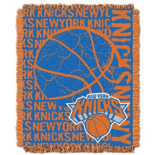 Northwest 019 NBA New York Knicks 48 x 60-Inch Double Play Jacquard Triple Woven Throw