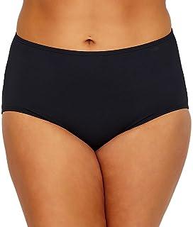 2048b29337c64 Amazon.com  Coco Reef Plus Size Cinched Bikini Swimsuit Briefs ...