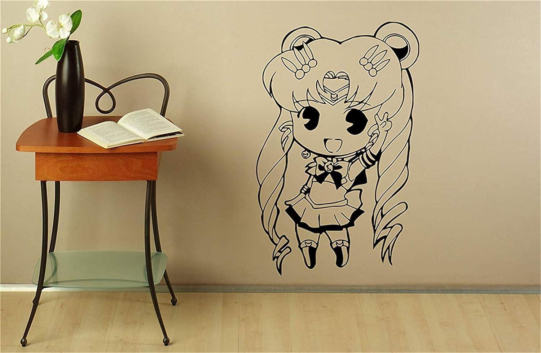pegatinas de pared frases Sailor Moon Tatuajes de pared Manga ...