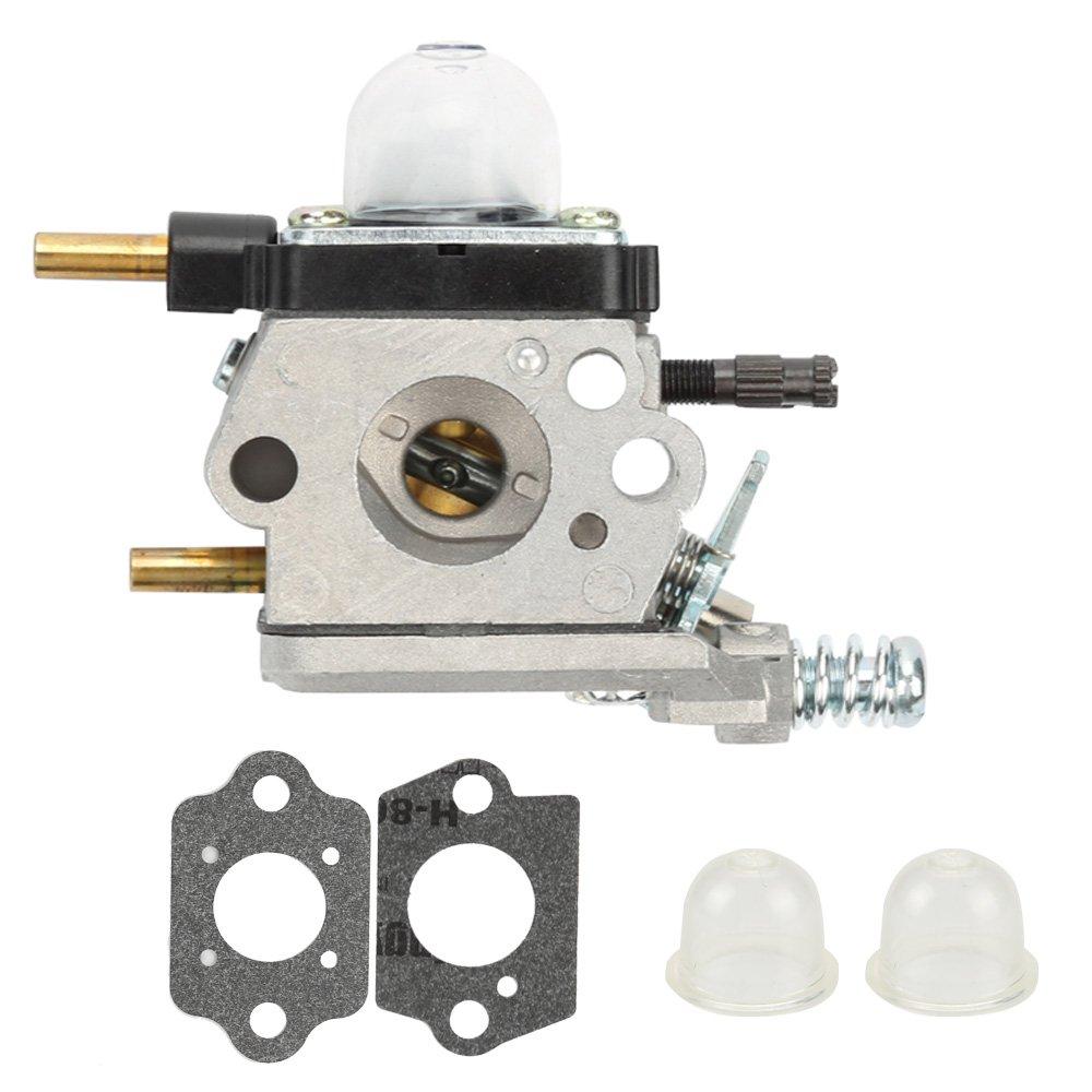 Milttor C1U-K54A Carburetor with Gaskets Primer Bulbs Fit Echo Mantis 7222 7222E 7222M 7225 7230 7234 7240 7920 7924 Tiller Cultivator